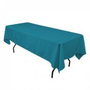 Tablecloth Restaurant Line Rectangular 180cm x 230cm Caribbean By Broward Linens