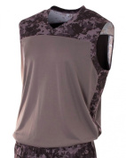 Camo Athletic Muscle Tank Moisture Wicking Shirt/Jersey Uniform Athletic or Casual Wear