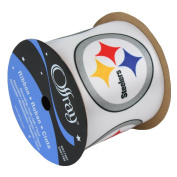 PITTSBURGH STEELERS RIBBON-PITTSBURGH STEELERS HAIRBOW RIBBON, CRAFTING RIBBON, GIFT WRAP RIBBON-6.4cm WIDTH-NFL RIBBON