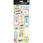 Me and My Big Ideas STP-175 Mambi Sticks Stickers, Washi Tape Shapes