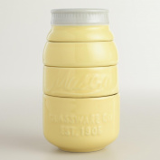 Yellow Mason Jar Measuring Cups - World Market