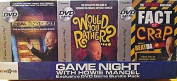 GAME NIGHT WITH HOWIE MANDEL - Exclusive DVD Game Bundle Pack DEAL OR NO DEAL, WOULD YOU RATHER, FACT OR CRAP
