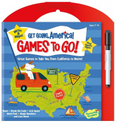 Peaceable Kingdom / Get Going, America Write & Wipe Games To Go! Activity Book