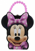 Disney Minnie Mouse Face Tin Purse Lunch Box