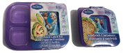 Frozen Lunch Kit Sandwich Containers Sectioned Lunch Plates Disney Frozen Food Storage Boxes