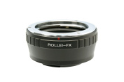 Gadget Place Rollei Lens Adapter for Fujifilm X-T1 IR X-T10 X-A2 X-E2 X-A1 X-M1 X-E1 X-Pro1