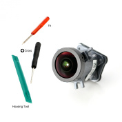 Easy To Shop Optical Camera Lens Replacement Repair Part for GoPro Hero 4 Silver/Black