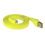 DSLRKIT Logitech UE BOOM Bluetooth Speaker Micro USB Cable 22AWG 1.2M 4ft Max 2.5A Yellow