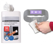 DURAGADGET Anti-Static LCD Cleaning Cloths Suitable for Use with Microsoft Band