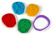 Fred and Friends MUNCHA LIBRE Luchadore Assorted Cookie Cutter/Stampers, Set of 4