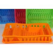 Plastic Dish Drainer & Plastic Tray 49x33x10cm