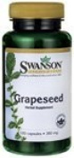 Grapeseed 380 Mg 100 Caps By Swanson Premium