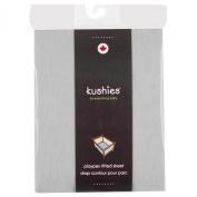 Kushies Baby Portable Play Pen Sheet, Grey Solid