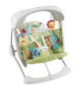 Fisher Price Deluxe Take-Along Swing & Seat - Rainforest Friends