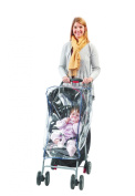 Comfy Baby! Universal Clear Waterproof Rain Cover/Wind Shield for Standard Stroller