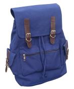 AM Landen®Unisex High School Canvas Backpack School Bag Travel Bag Laptop Bag