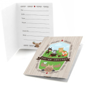 Woodland Creatures - Fill In Party Invitations - Set of 24