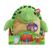 Pop Out Pets Ocean, Reversible Plush Toy, Get 3 Stuffed Animals in One - Turtle, Dolphin & Walrus, 20cm .