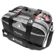 Path Double Tote Plus Clear Top Bowling Bag