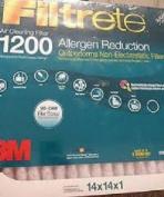 3M Filtrete 1200 Allergen Reduction Air Cleaning Filter