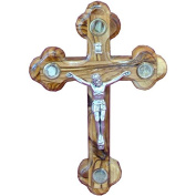Wall Orthodox Crucifix Cross With Elements Christian Holyland Gift