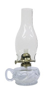 Glo Brite by 21st Century L392ACL Lite Hearted Clear Glass Oil Lamp