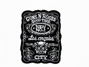 Gun'n rose rock music band iron on patch