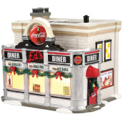 Coke Ed's Christmas Diner Village