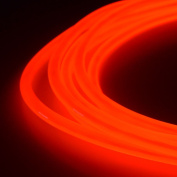 5mm EL Wire Kit - Red - 6.1m Premium from GlowCity
