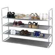 Yaheetech Shoe Rack Organiser Tier Space Standing Closet Shelf Racks