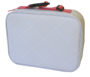 Insulated Lunch Box Sleeve - Securely Cover Your Bento Box - Argyle Design