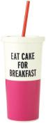 kate spade new york Insulated Tumbler, Eat Cake for Breakfast