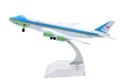 1:400 16cm Air Force One Boeing B747 Metal Aeroplane Model Plane Toy Plane Model