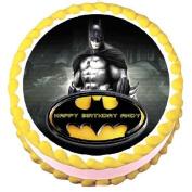 Batman Edible Frosting Sheet Cake Topper - 19cm Round
