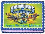 Skylanders Swap Force Edible Image Cake Topper - 1/4 Sheet