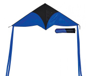 In the Breeze Blue Delta Travel Kite, 140cm