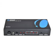 OREI HD-401p 4 X 1 High Speed HDMI Switcher With IR Remote - Supports 3D 1080P/4K with Picture in Picture -