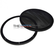 Xscorpion D-10MG 25cm Mesh Car Speaker Subwoofer Grille Grill with Double Rings