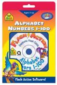 School Zone Flash Action Alphabet/Numbers 1-100