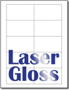 Laser Glossy Business Cards - 100 Sheets / 1000 Business Cards