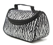Imvation Travel Portable Zebra Cosmetic Bag Makeup Case Pouch Toiletry Handbag Wash Container