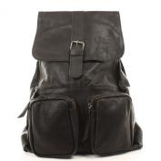 Leconi city backpack vintage cow leather rucksack LE1008