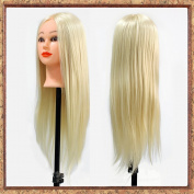 Neverland Beauty Professional 60cm Long 30% Real Human Hair Mannequin Training Head For College and Professional Use