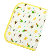 Happy Cherry Infant Baby Deluxe Ecological Cotton Change Pad,Waterproof Baby Nappy Changing Pad(60*80cm/23.62*31.5) - Yellow