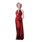 """Marilyn Monroe """"Red Gown"""" - Advanced Graphics Life Size Cardboard Standup"""
