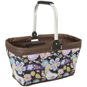 DAILYDREAM® colourful, foldable shopping bag, shopping basket with comfortable handle