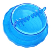 Plastic Garlic Twist Crusher Ginger Mincer Kitchen Gadget Helper Blue
