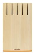 Fiskars 1014228 FunctionalForm Empty Knife Block Wood