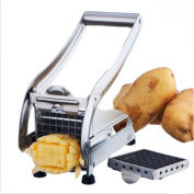 Manual Stainless Steel Potato Slicer French Fry Vegetable Cutter Chopper