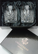 Speymore Cut Crystal Whisky Glasses - Pair